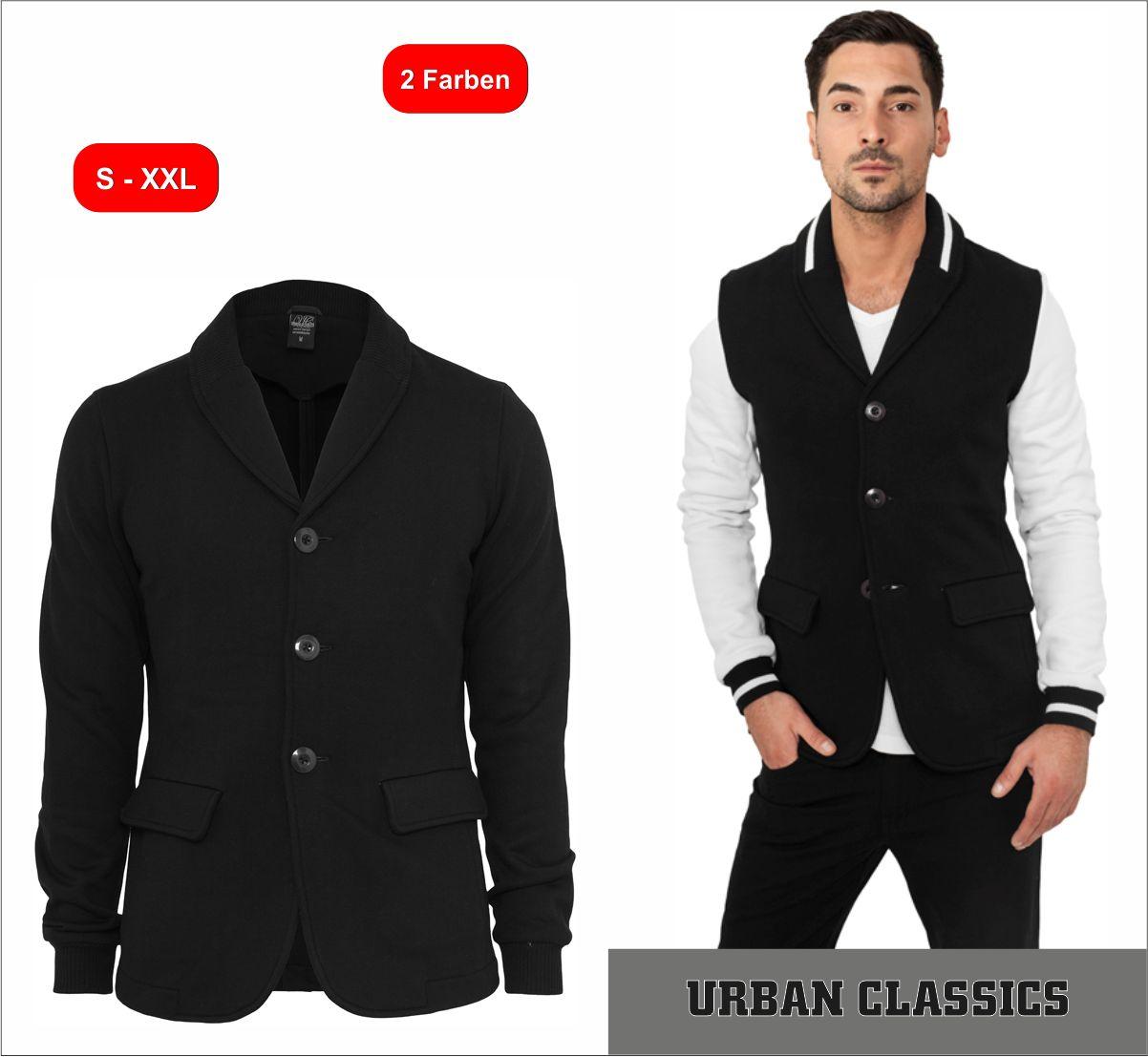 urban classics sweat blazer sakko herren oberteil jacke. Black Bedroom Furniture Sets. Home Design Ideas